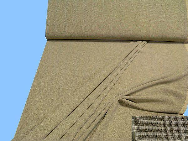 Hosen- und Kostümstoff - beige/grau