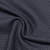 Punto Milano  Power-Stretch Jersey  Raute - nachtblau/grau