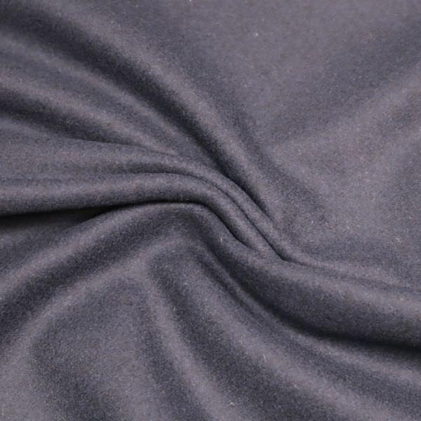 Wolltuch uni- nachtblau