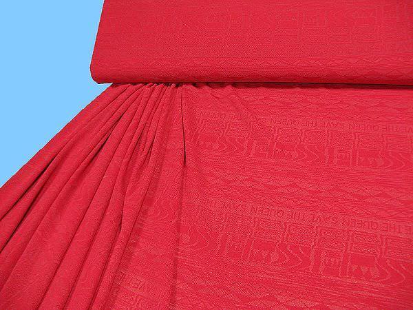 Netz- Jersey uni - rot