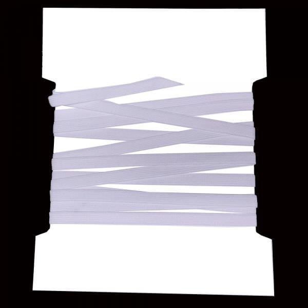 Gummiband 0,7 cm - weiss