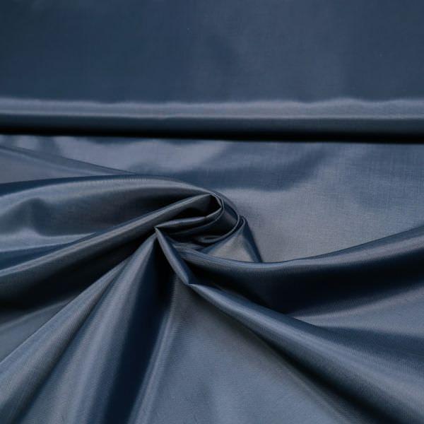 Futterstoff uni - marineblau