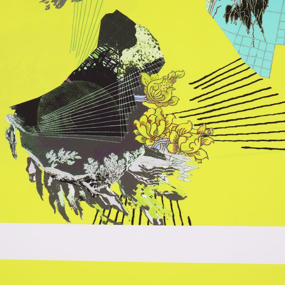 """Fitness- & Bademodenstoff Lycra """"Futuristisches Muster"""