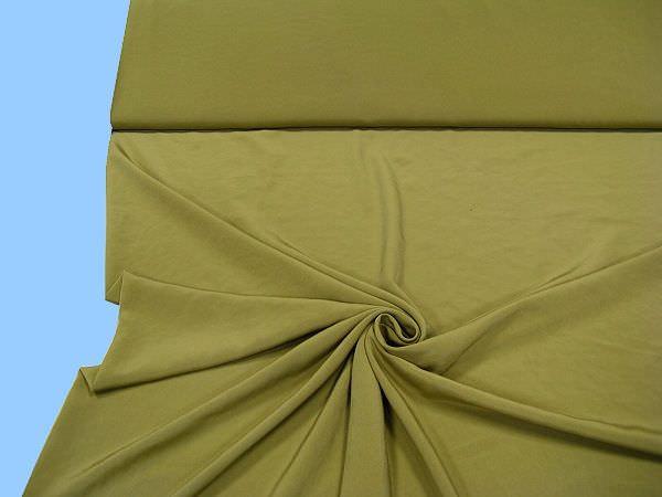 Blusen- und Kleiderstoff uni - schilfgrün