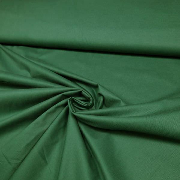 Baumwollstoff mit Lotuseffekt uni - dunkelgrün