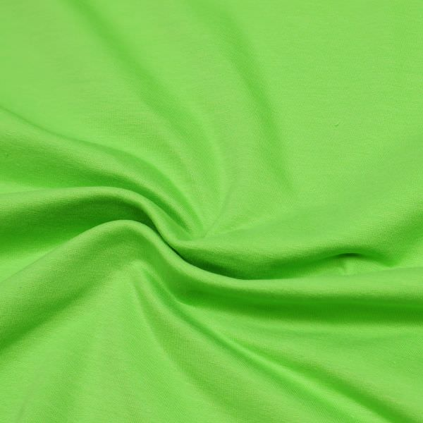 Baumwoll- Stretch Sommersweat Stoff uni - grün