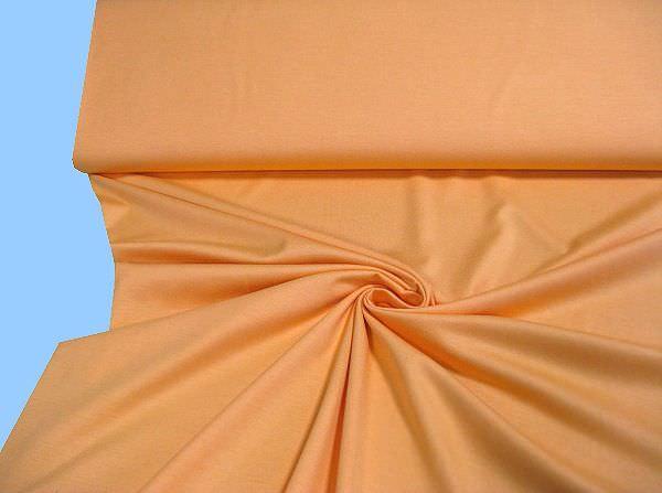 Feinjersey uni - orange