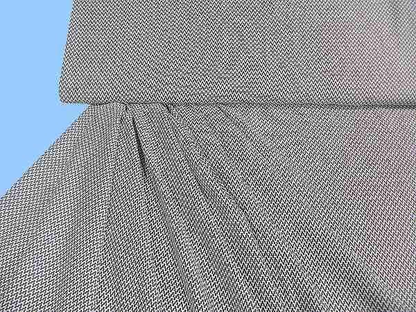 Blusen- und Kleiderstoff - weiss/grau