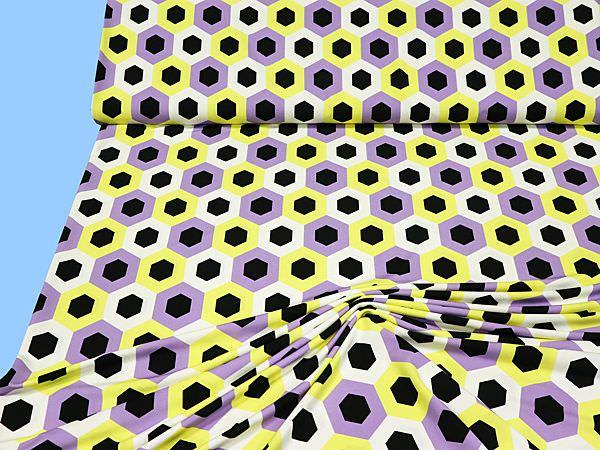 Slinky - gelb/flieder/schwarz/weiss