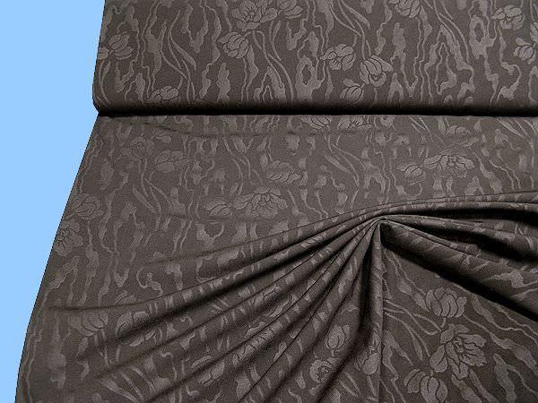 Kleider- und Kostümstoff - braun