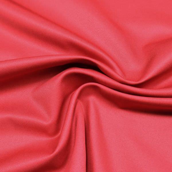 Viskose-Polyester Twill uni - rot (2.Wahl)