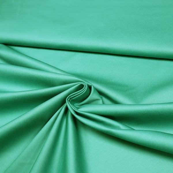 Baumwolle-Viskose Twill uni - mintgrün