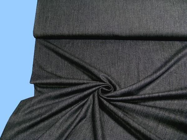 Hosen- und Jackenstoff - dunkelblau (Jeansstoff art)
