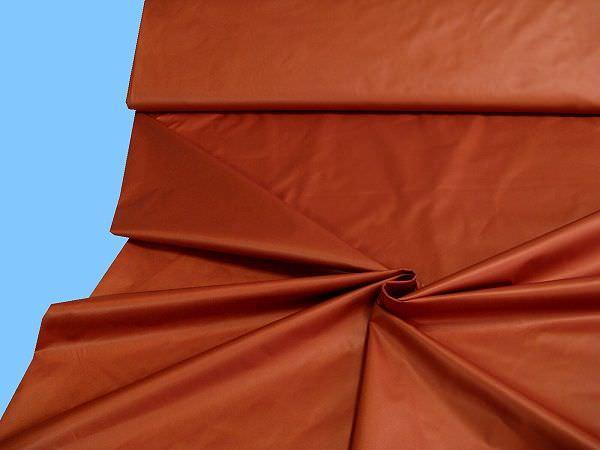 Jackenstoff uni - terrakotta