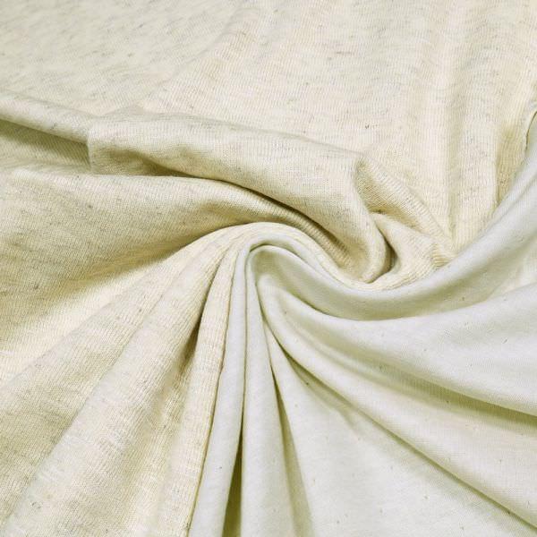 Doubleface Feinstrick-Viskosejersey Melange - beige/grau/wollweiss