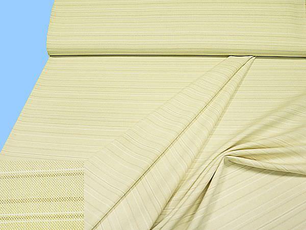 Baumwollmix mit leichten Streifen - beige/wollweiss/creme