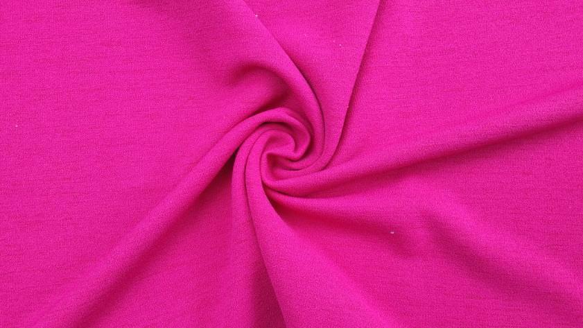 Rosa Slinky Stoff, schön gezwirbelt