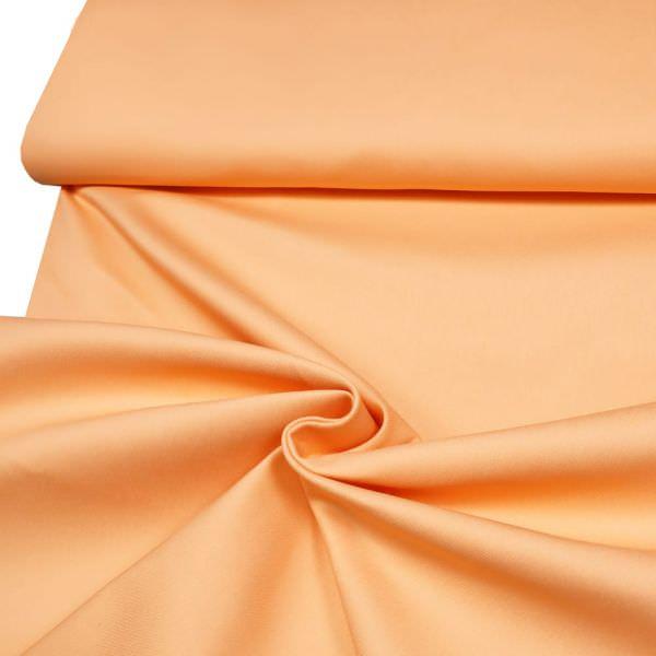 Stretch Jeansstoff uni - apricot