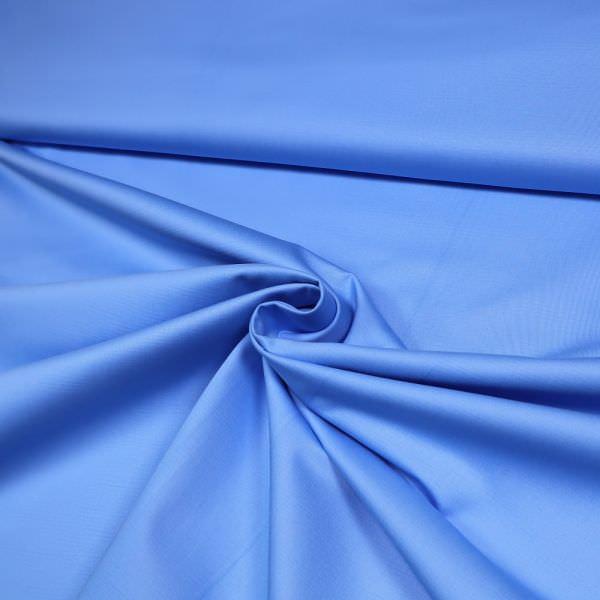 Baumwollstoff uni - hellblau (2.Wahl)